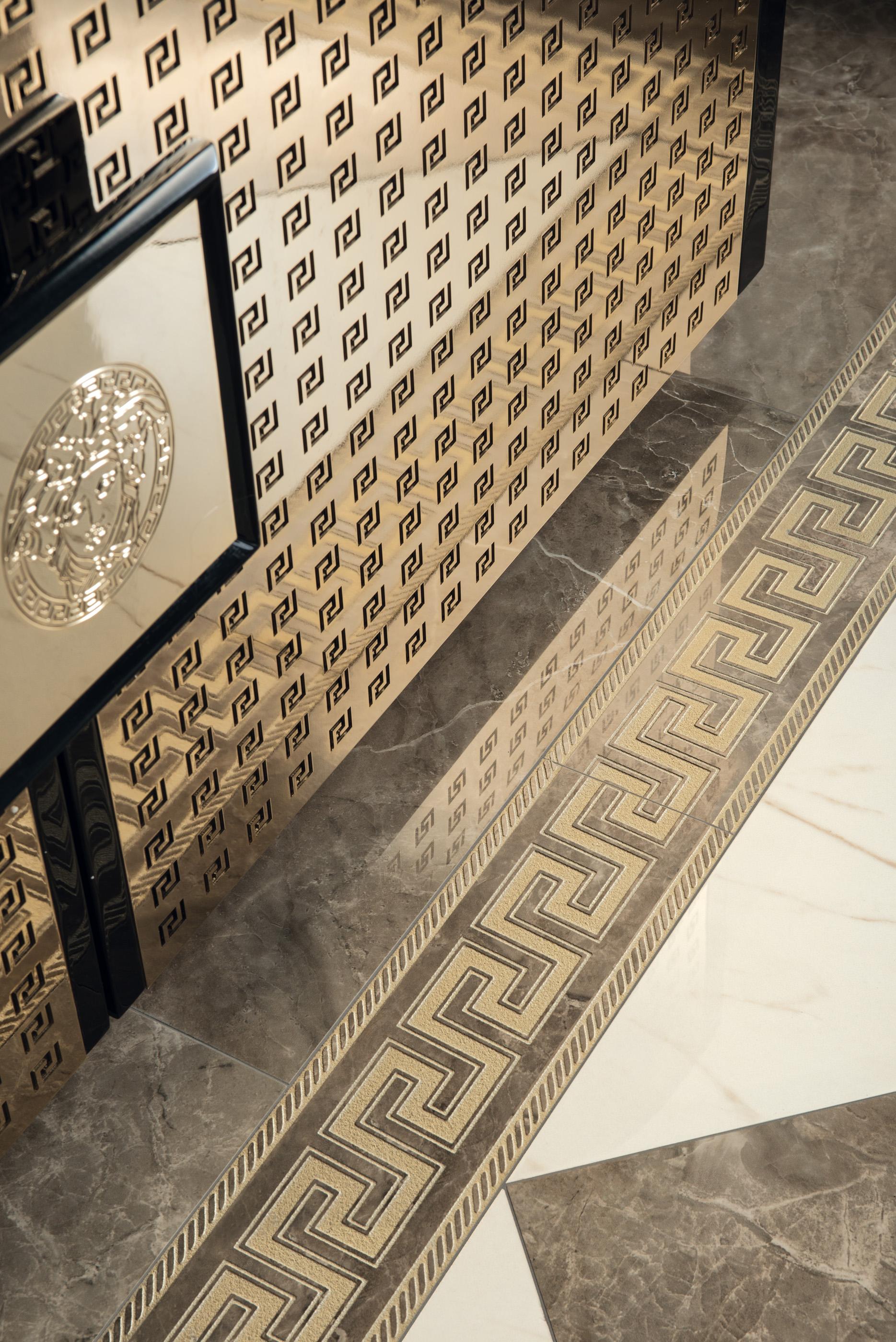 Versace ceramic tiles
